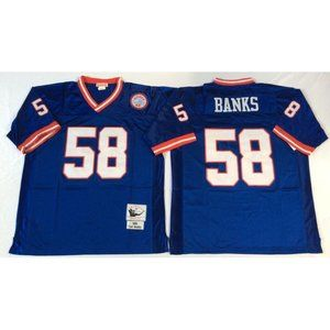 Carl Banks Royal Blue Retired Jersey